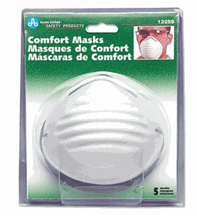 Acme United 13259 Comfort Dust Masks  5/Pack