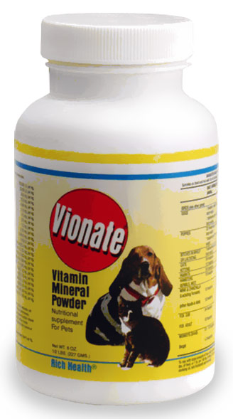 Gimborn Pet Specialties RH99420 8 oz Vionate Powder