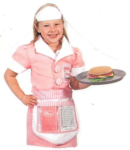 Melissa N Doug 4787 Waitress Role Play