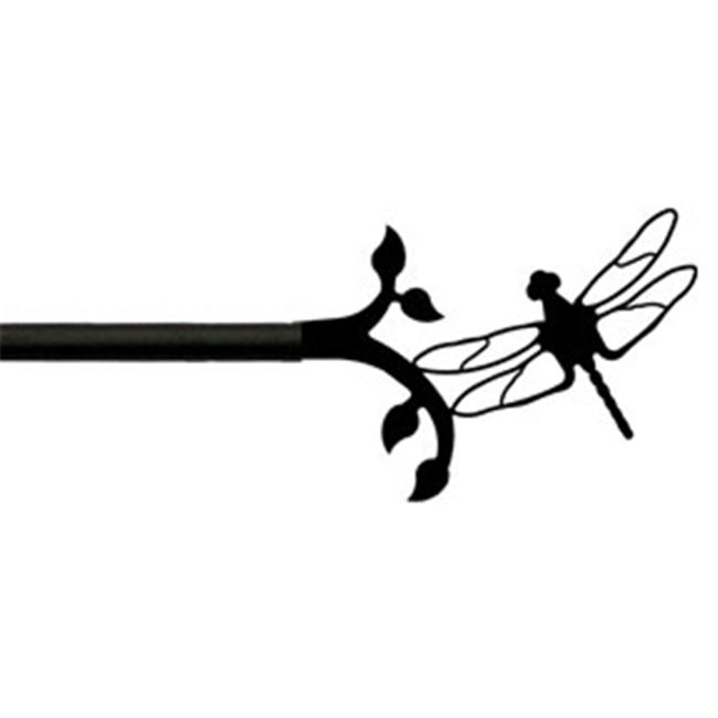 Wrought Iron Curtain Rods : ... Iron CUR-71-60 Village Wrought Iron CUR-71-60 Dragonfly Curtain Rod