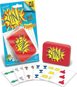 Talicor 6330 Blink Bible Edition Card Game