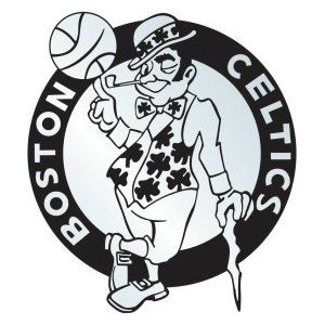 Boston Celtics Silver Auto Emblem