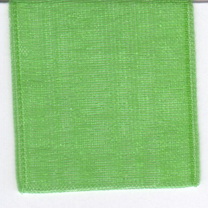Papilion R072070090580100Y .38 in. Chiffon Ribbon 100 Yards - Emerald