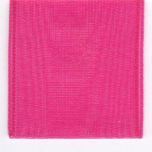 Papilion R072070160175100Y .63 in. Sheer Chiffon Ribbon 100 Yards - Shocking Pink