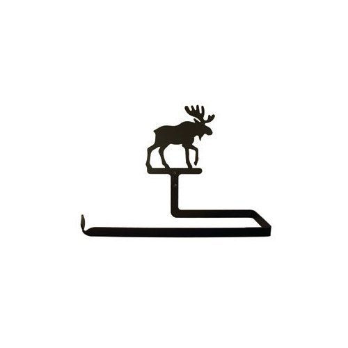 Village Wrought Iron PT-A-19 Moose Paper Towel Holder