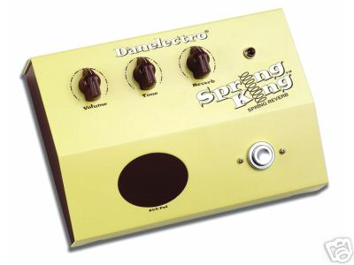 Danelectro DSR1 Spring King Effects Pedal