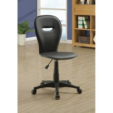 Monarch Specialties I 4270 Open Back Office Chair - Black