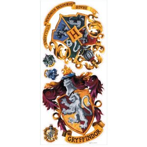 Roommate RMK1551GM Hogwarts Crest Giant Wall Decals