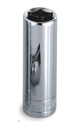 Sk Hand Tool Llc SK41698 .25 in. Drive 6 Point Deep Metric Socket 4.5mm