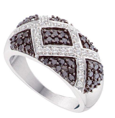 Gold and Diamonds FRR5091DBA-W-14K 1.00CT-DIA FASHION BAND- Size 7