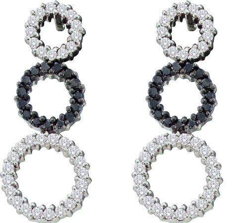 Gold and Diamonds EWZA1075-W 0.78CT-DIA FASHION EARRING