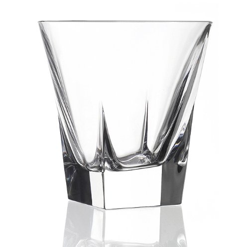 Lorenzo Import 239850 RCR Fusion Crystal Double Old Fasshioned set of 6