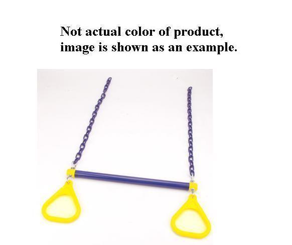 Jensen A195YY Commercial Combo Trapeze Bar - Yellow-Yellow