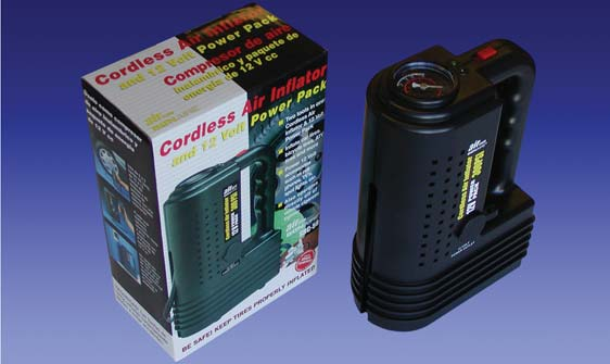 Goal Sporting Goods BI50 Cordless Air Compressor