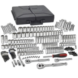 KD Tools KDT80933 216 Piece .25 in.  .37 in. and .50 in. Drive Mechanics Tools Set