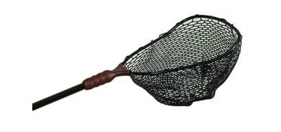 Adventure Products 71261 Ego - Medium 19 Inch Rubber Mesh Fishing Net