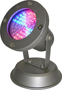 Alpine Corp LED460TSL 60 Super Bright LED Changing Pond Light - Red  Blue and Green