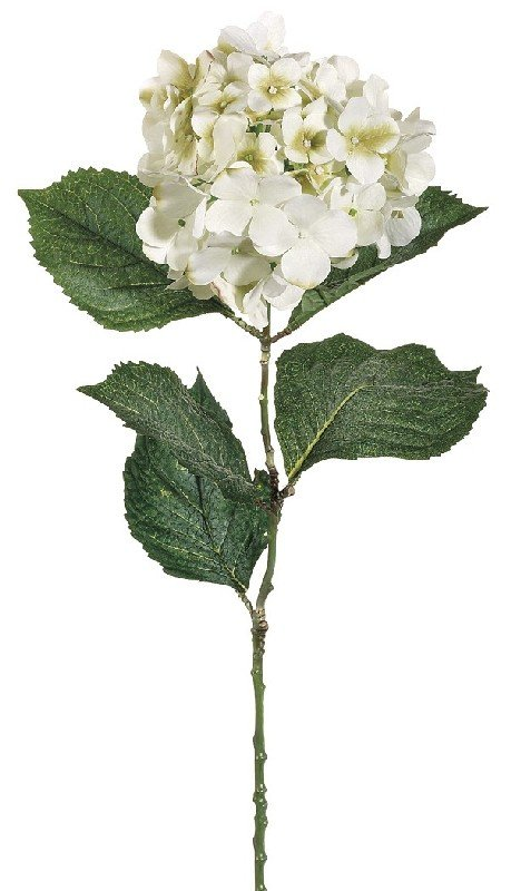 30 Inch Hydrangea Spray - White - Qty of 12
