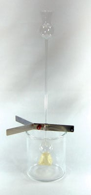 Ginsberg Scientific 7-1501-7 Osmosis Apparatus - Double Thistle Tube Type With Jar And Support