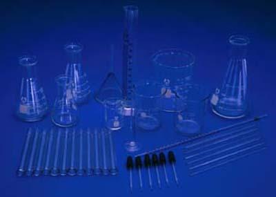 Ginsberg Scientific 7-2000-36 Glassware Kit - 36 Pieces