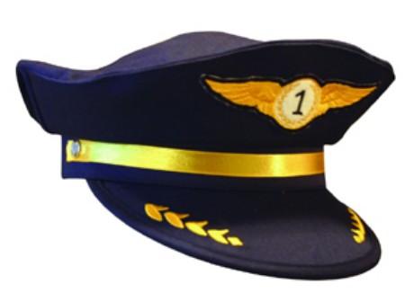 Aeromax AAP-CAP Jr. Airline Pilot Cap - Cap Only