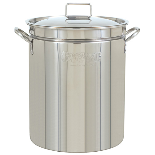 Bayou Classic 1002 102 Quart Stockpot with Lid