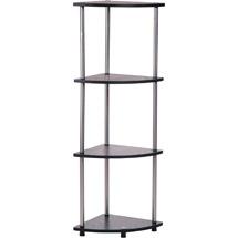 Convenience Concepts 111075 4 Tier Corner Shelf