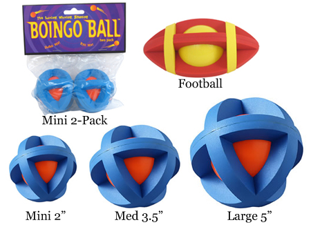 Multipet MU55555 Boingo Ball Plastic Sphere Covered By Rubber Grippers - Large at Sears.com