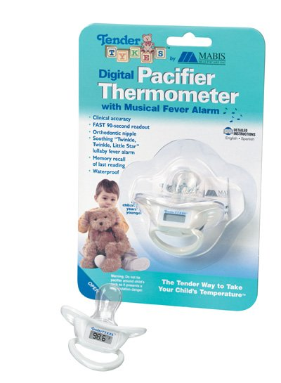 Mabis 15-690-000 Digital Pacifier Thermometer