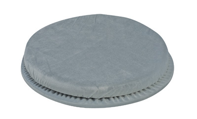 Duro-Med 513-1992-0300 15.625 Inch Swivel Seat Cushion - Grey - 300lb Weight Capacity