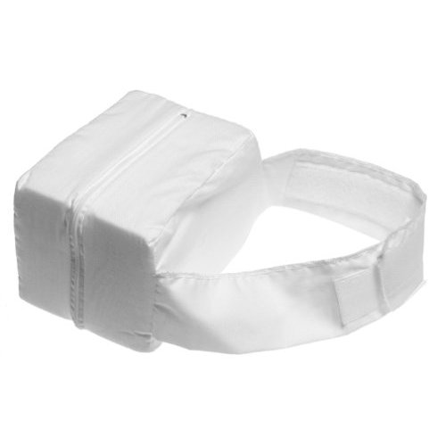 Duro-Med 555-7980-1900 Knee-Ease Pillow With White Polyester-Cotton Cover