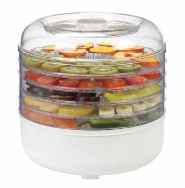 Ronco FD1005WHGEN 5Tray Electric Food Dehydrator