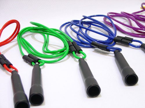 Everrich EVA-0001 Adjustable Jump Ropes - Set of 6 Colors