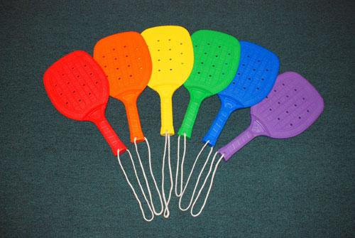 Everrich EVB-0035 Junior Colorful Racket - Set of 6