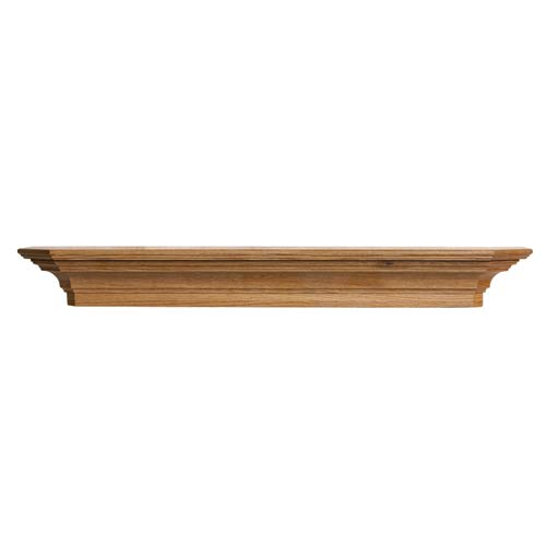 Bostonian Mantel Shelf in Medium English Chestnut