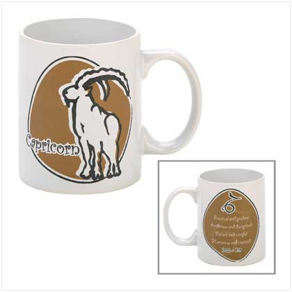 Capricorn Zodiac Mug