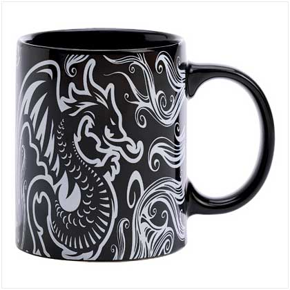 Tattoo Dragon Mug
