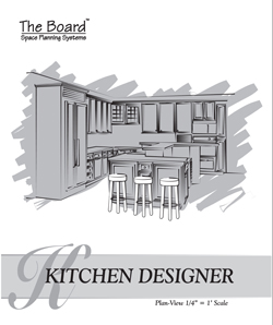 Space Planning MP-031-KD The Board Kitchen Designer