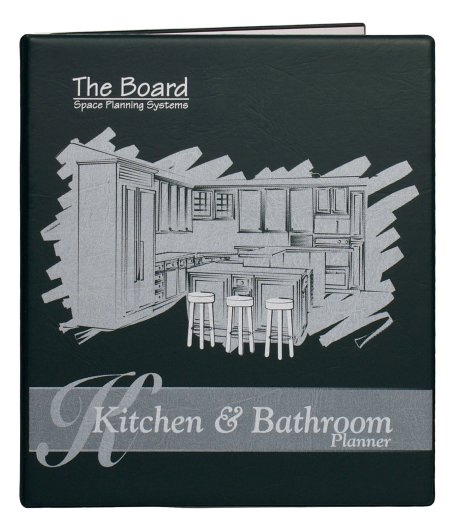 Space Planning MP-029-KB The Board Kitchen and Bathroom Planner .25 Inch