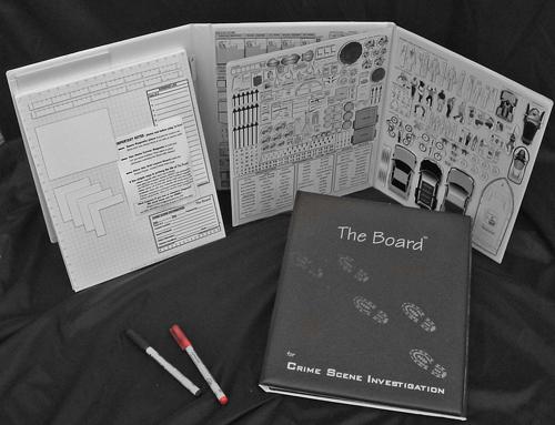 Space Planning MP-050-CSI The Board for Crime Scene Investigation