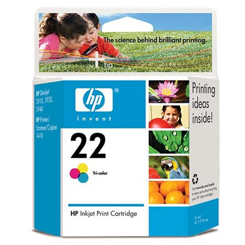 HP C9352AN 22 Tricolor Inkjet Print Cartridge