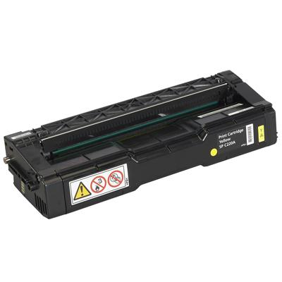 Ricoh  406044 Yellow Toner Cartridge SP C220