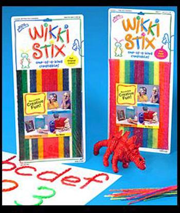 Wikki Stix WKX804 Wikki Stix Neon Colors