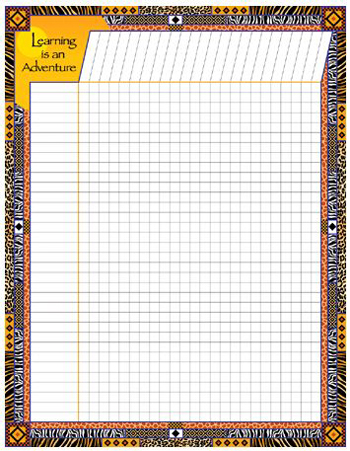 Barker Creek & Lasting Lessons LAS1111NCH Africa Incentive Chart