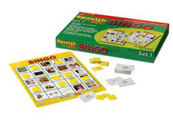 Edupress EP-2345 Spanish In A Flash Bingo - Set 1