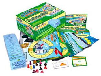 New Path Learning NP-232001 Mastering Math Skills Games Classpack Grade 2 EDRE25131