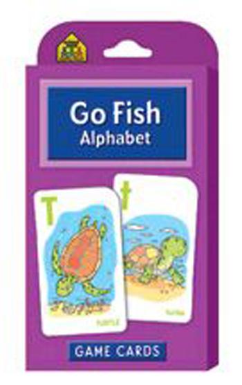 School Zone Publishing SZP05014 Go Fish Game Cards