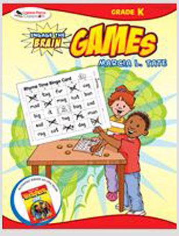 Corwin Press COR9781412959339 Engage The Brain Games Kindergarten EDRE25327