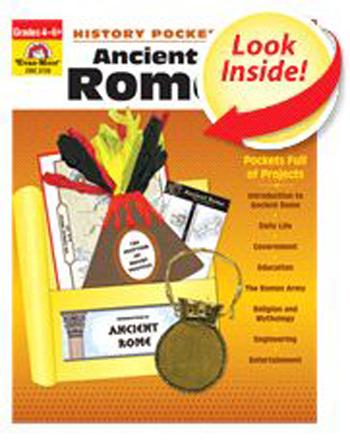 Evan-Moor EMC3726 Ancient Rome Emc Evan-Moor History