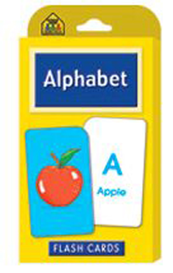 School Zone Publishing SZP04001 Alphabet Flash Cards